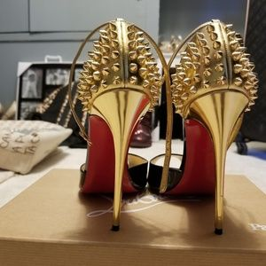Christian Louboutin pina spikes heels